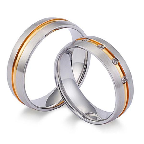 customized stainless steel ring core milgrain top quality for weddings