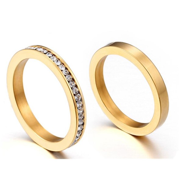customized stainless steel ring plated fashion design for decoration-1