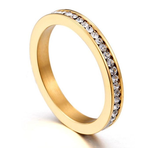 customized stainless steel ring plated fashion design for decoration-3