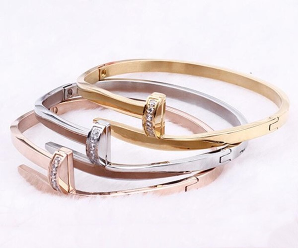 JaneE multi colors stainless steel bangles wholesale exquisite supplier-1