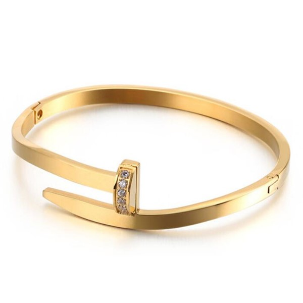 JaneE multi colors stainless steel bangles wholesale exquisite supplier-4