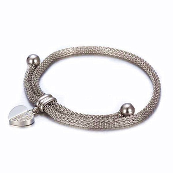 JaneE gold plated women's stainless steel bracelets wholesale for women-6