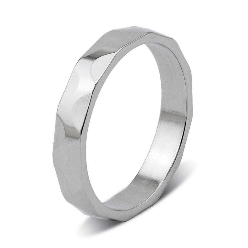 Surgical Stainless Steel Unisex Iron Ring for Men Women
