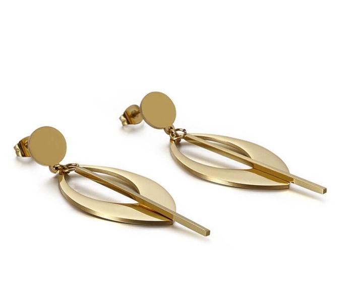 stylish stainless steel hoop earrings pendants OEM for decoration-4