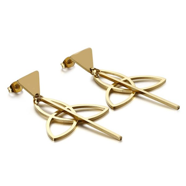 hypoallergenic surgical steel hoop earrings cuff big durable for decoration-4