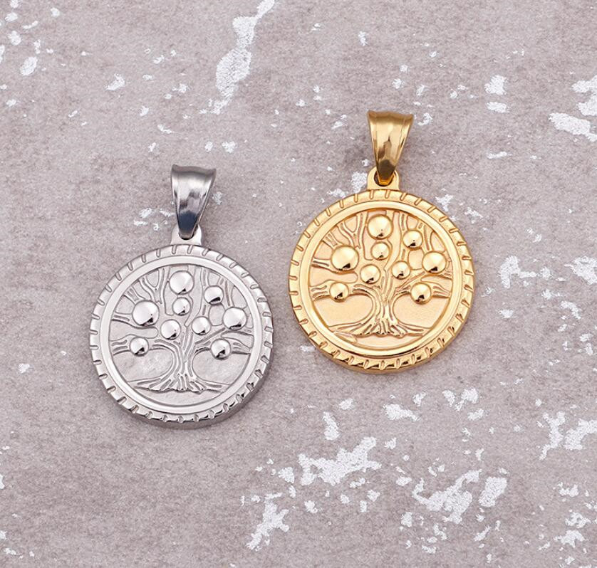 new design mens chain pendant rose gold custom for necklace-1