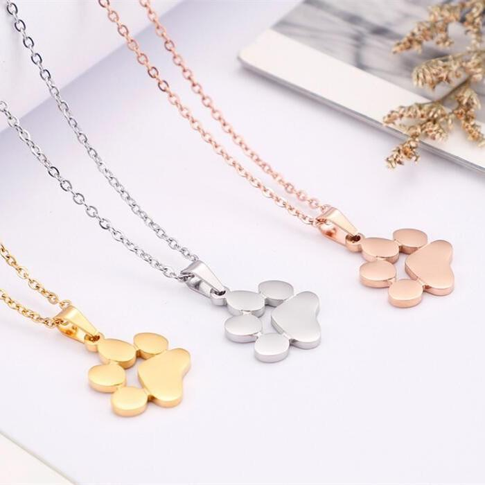 JaneE letter engraved stainless steel personalized necklace different dimension manufacturer