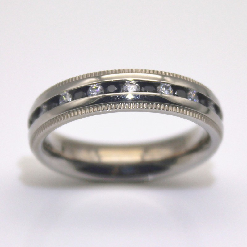 JaneE factory direct women's stainless steel rings fashion design for decoration-2