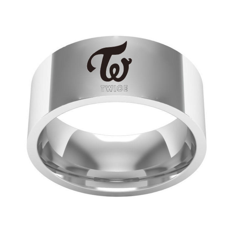 Customize  316L Stainless Steel Ring for Men Logo Dancing Hunter ID Name Letter