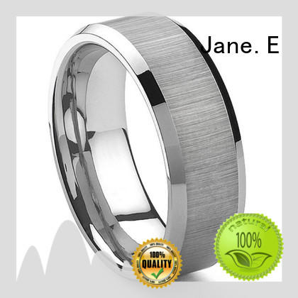 multi colors rose gold tungsten ring koa wood exquisite for wedding