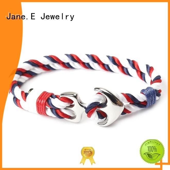 heart shape rope bracelet womens customized name logo custom made for anniversary