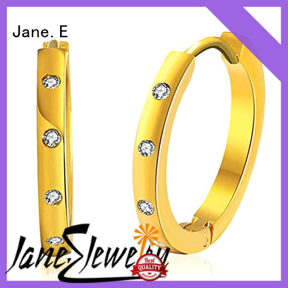 multi colors 316l stainless steel earrings cuff hoop comfortable for decoration