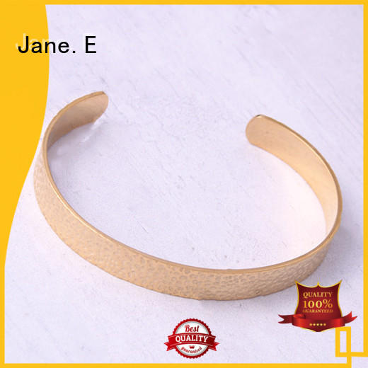 JaneE custom made stainless steel bangle bracelets exquisite manufacturer