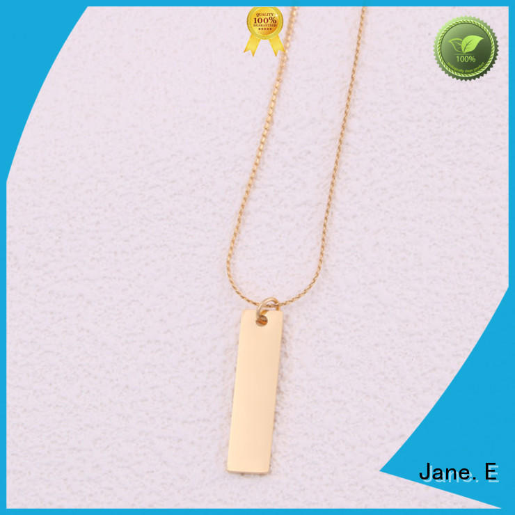 JaneE aromatherapy stainless steel chain necklace factory direct for decoration