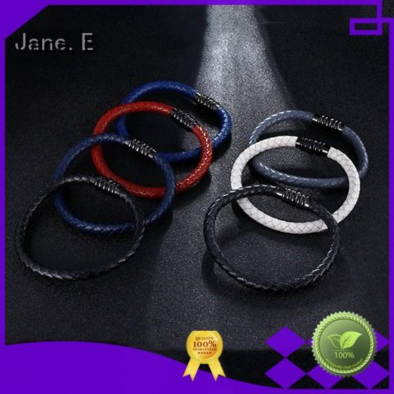 JaneE custom made stainless steel bangles wholesale hot selling manufacturer