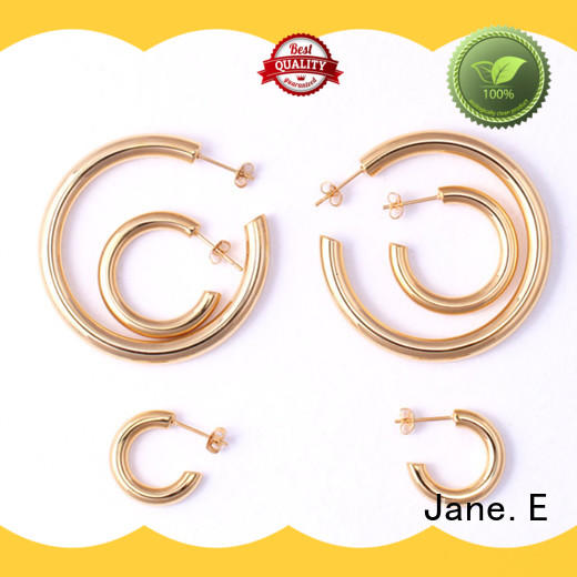 stylish surgical stainless steel earrings blanks comfortable for women