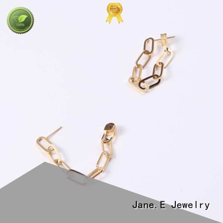 JaneE blanks surgical steel earrings ODM for women