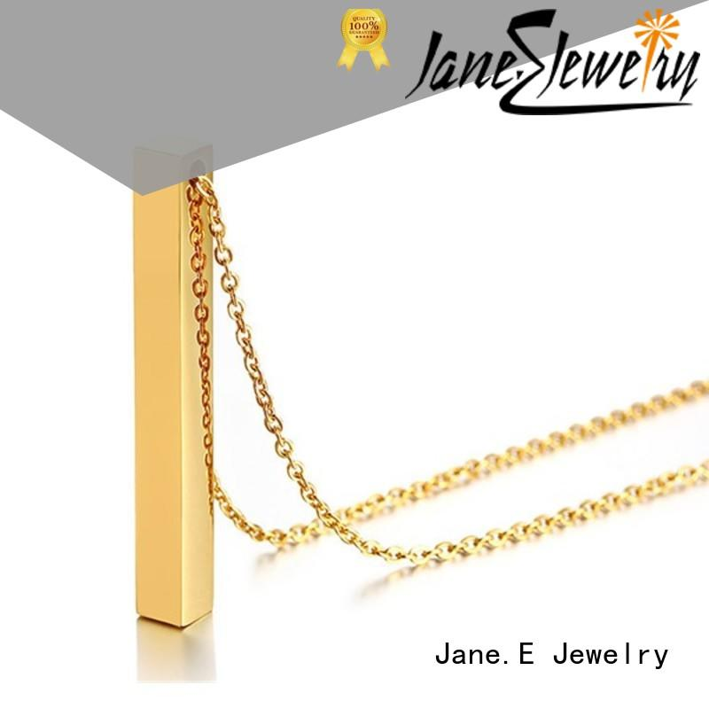 fragrant stainless steel diffuser necklace polished surface different dimension for decoration