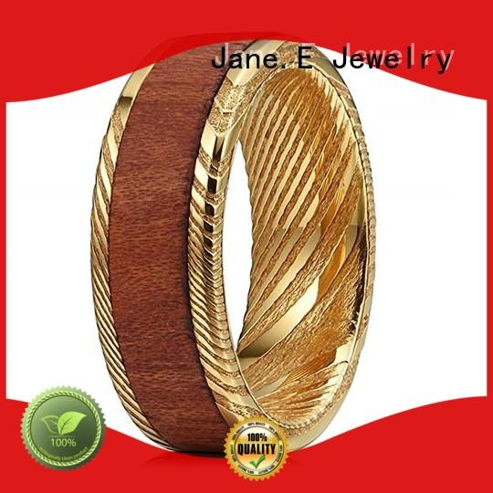 multi colors damascus steel wedding band watery or wavy patterns factory direct for inlay