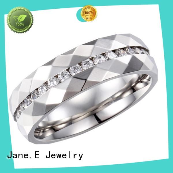 factory direct custom stainless steel rings plating multi colors for men