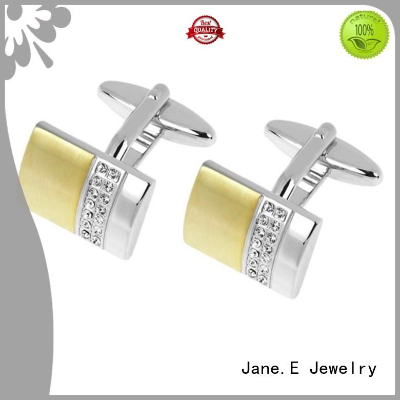 JaneE personalised engrave cufflinks for men