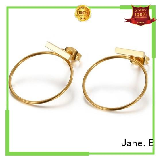 multi colors 316l stainless steel earrings cuff big comfortable for women