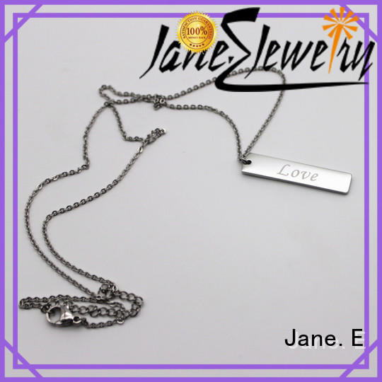 fragrant stainless necklace surgical factory direct manufacturer