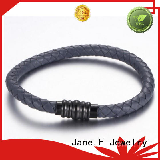 JaneE multi colors stainless steel bangles wholesale hot selling for gift