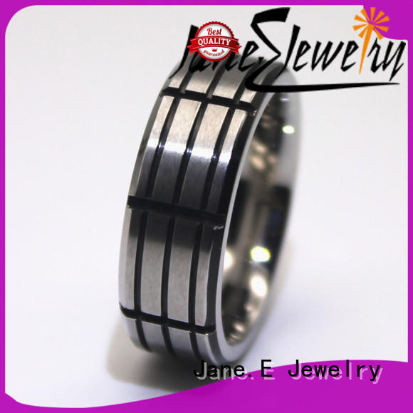 stainless steel band rings 316l steel for decoration JaneE