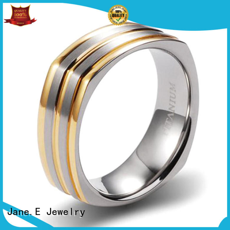 JaneE for wood crafts titanium wedding bands factory direct for engagement