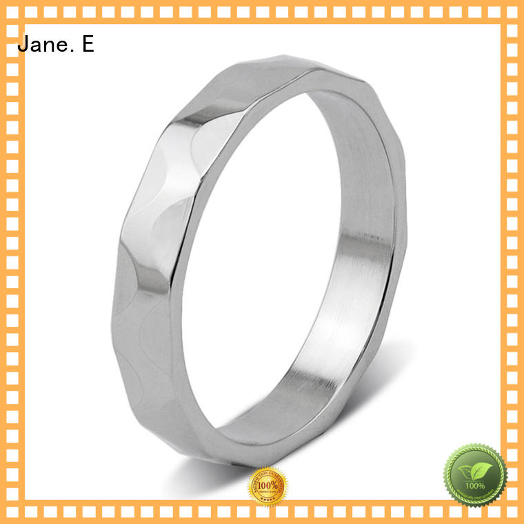 JaneE 316l steel stainless steel band multi colors for decoration