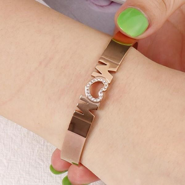 JaneE multi colors mens stainless steel bangle hot selling supplier-1