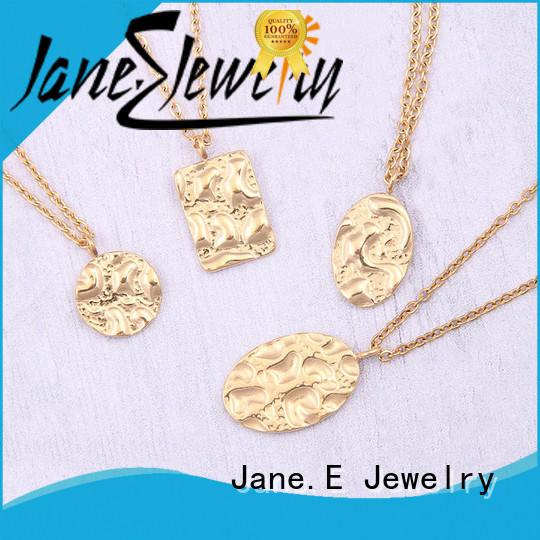 letter engraved minimalist necklace polished surface different dimension manufacturer