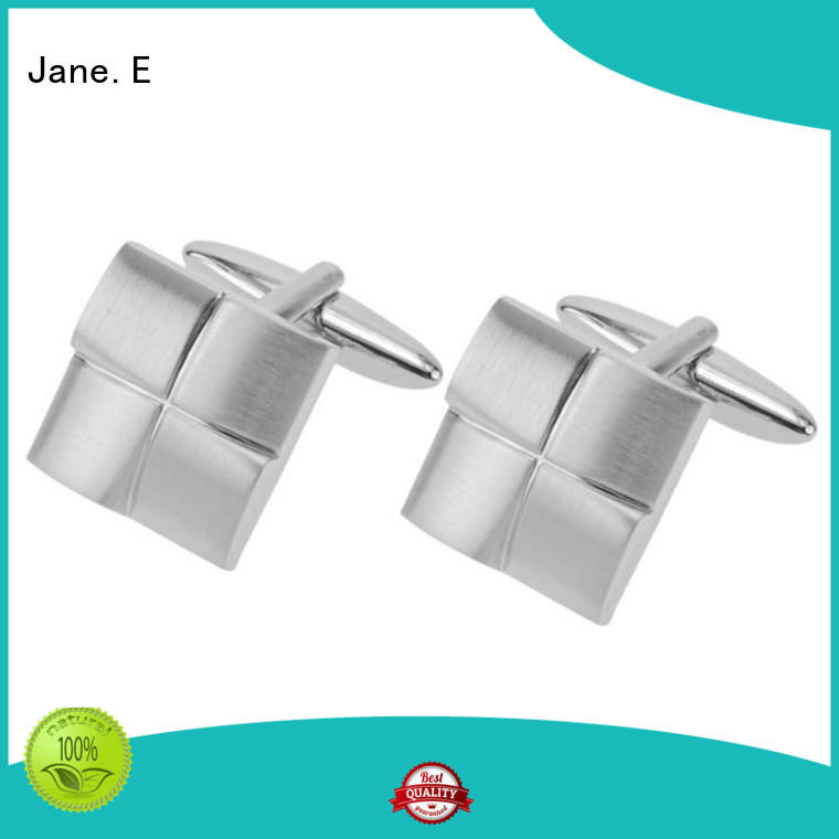polished custom design cufflinks custom design for men JaneE