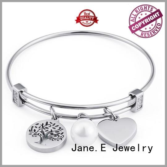 JaneE custom made stainless steel bangle hot selling supplier