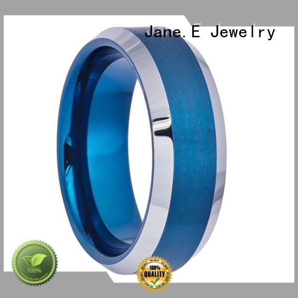 two tones black tungsten mens ring exquisite for wedding JaneE