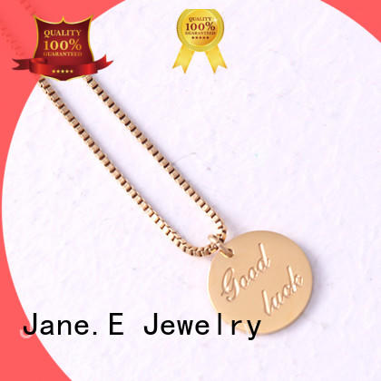 fragrant stainless steel necklace engraved factory direct for decoration