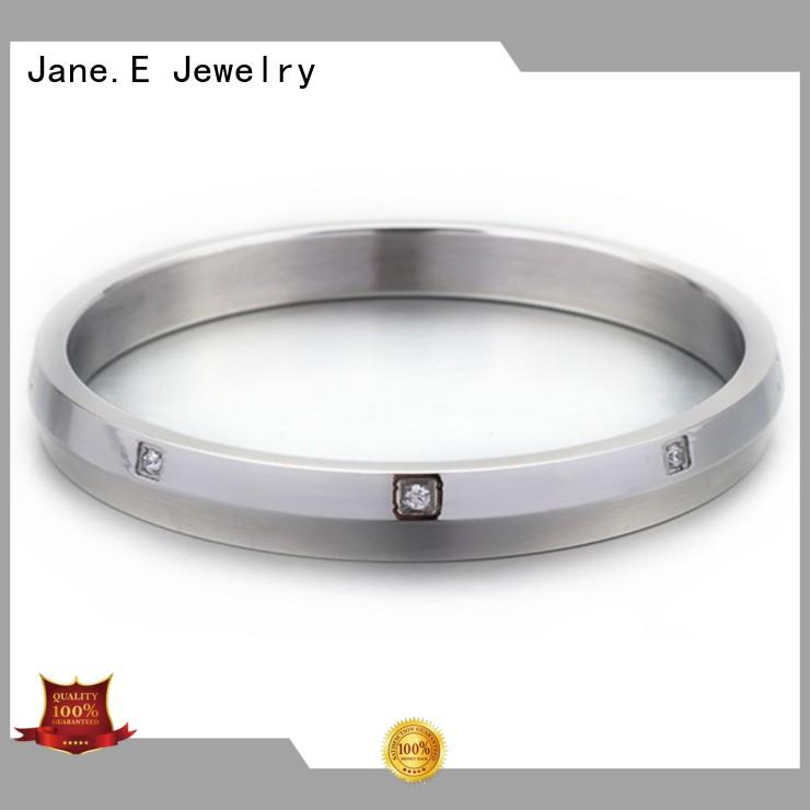 JaneE custom made stainless steel bangles wholesale exquisite manufacturer