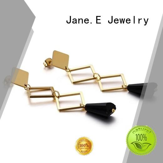 JaneE high polished pearl earrings for women ODM for decoration