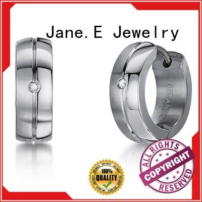 JaneE traditional simple earrings classic style for women