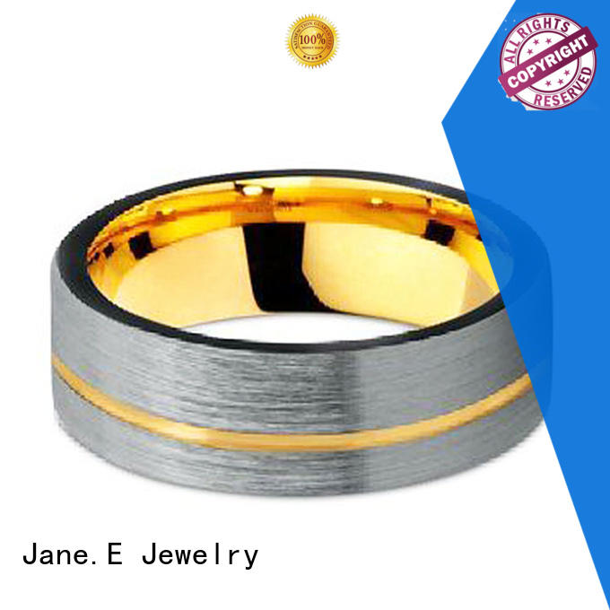 JaneE red opal tungsten engagement rings exquisite for engagement