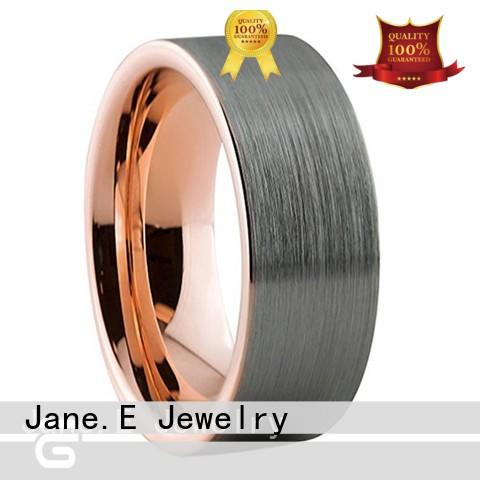 unique design mens tungsten carbide wedding bands damascus texture exquisite for wedding