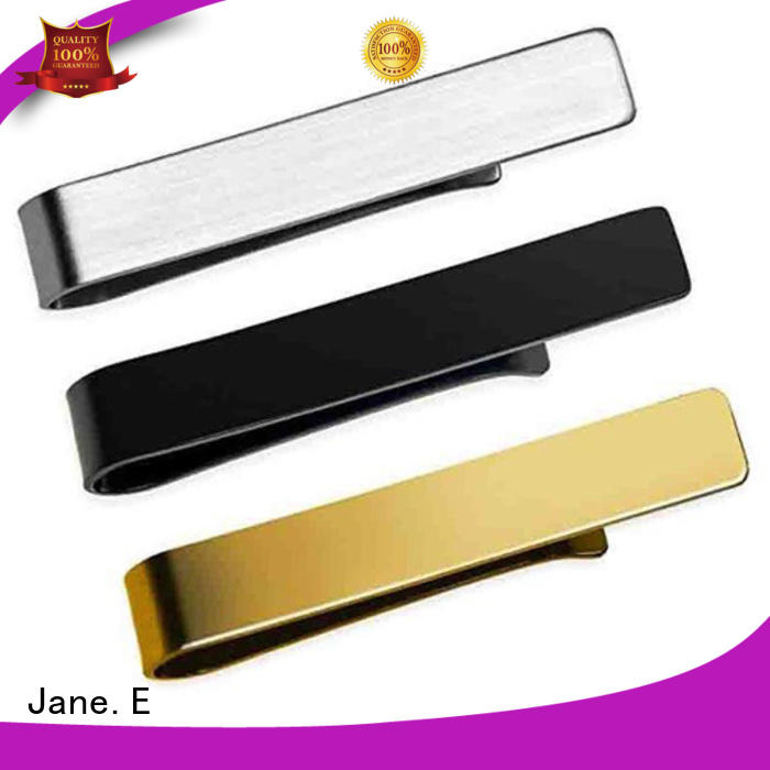JaneE high end stainless steel cufflink for gifts