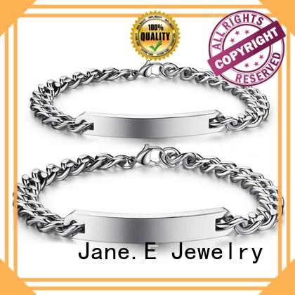 stainless steel chain bracelet gold plated wholesale for gifts
