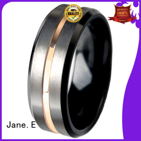 multi colors tungsten wedding bands for her two tones exquisite for wedding