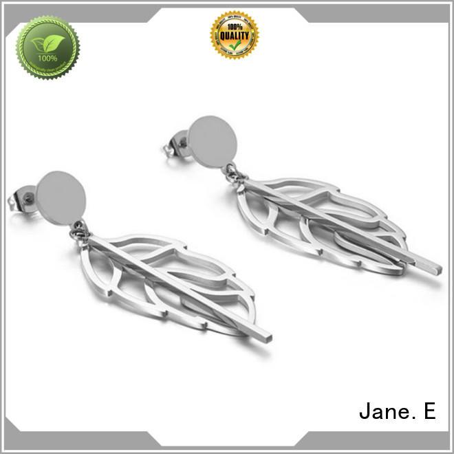 JaneE rose gold pearl earrings for women comfortable for women