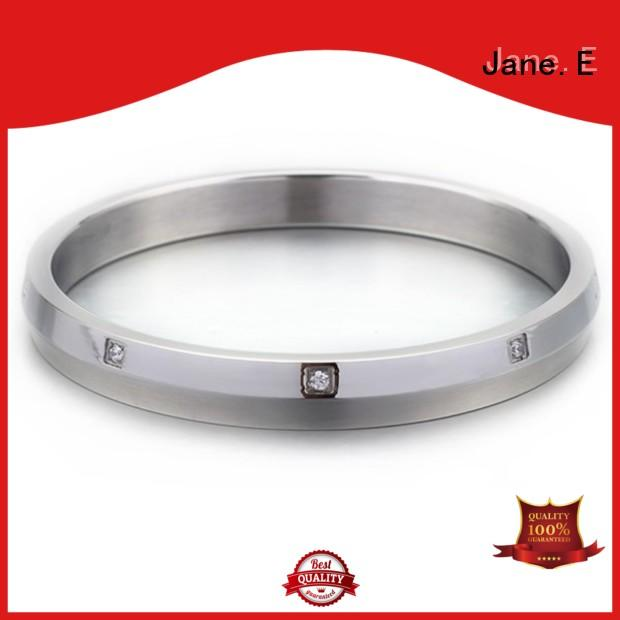 JaneE surgical stainless steel bangle exquisite for gift