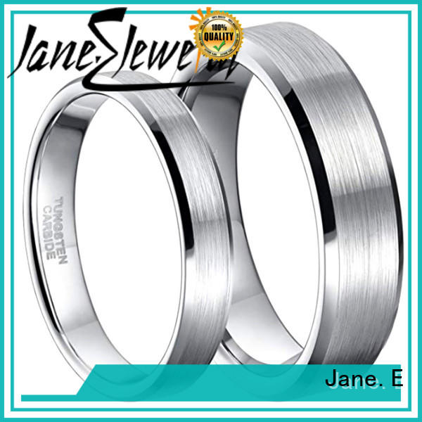 multi colors tungsten carbide gold ring two tones engraved for gift