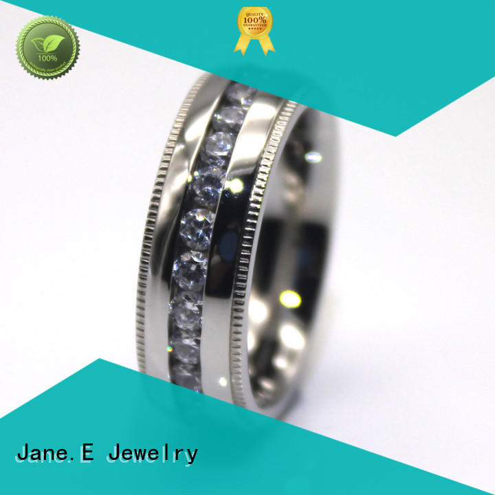 customized stainless steel ring multi colors for decoration