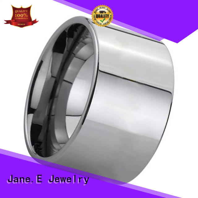 JaneE red opal tungsten engagement rings for her exquisite for engagement